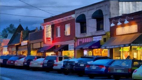 Multnomah Village, Southwest Portland